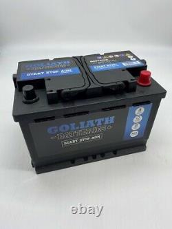 Goliath G096AGM 70Ah 760A Start Stop Battery 3 Year Warranty