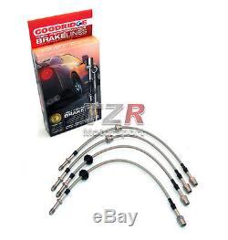 Goodridge Stahlflex Bremsleitung Nissan Primera P11 2.0L 16V ab Bj. 8/99 Turbo