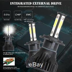 H7 LED Headlight Blubs 300000LM Bright White Fit BMW Audi VW Nissan Mercedes U