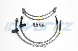 HEL Performance Braided Brake Lines for Nissan Primera P11 2.0 GT (96-02)