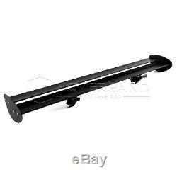 Hatchback Car Rear Wing Spoiler Double Deck Lightweight Aluminum 110cm Universal