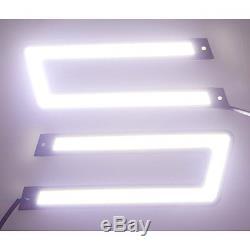 Hot U-shaped 6000k Tron Style Cob White Led Daytime Running Lights Tron Style