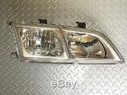 JDM Nissan Primera P11 Infiniti G20 Kouki Headlights Corner Lights Lamps Set OEM