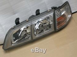 JDM Nissan Primera P11 Infiniti G20 Kouki Headlights Lamps Set OEM 95-01