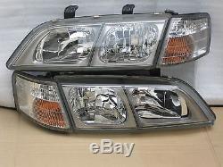 Jdm Nissan Primera P11 Infiniti G20 Complete Head Lights Oem
