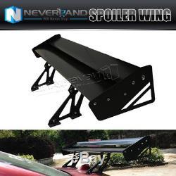 Lightweight Aluminum Double Deck GT Rear Trunk Wing Racing Spoiler 53 Universal