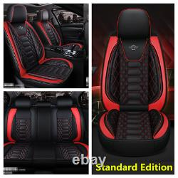 Luxury Leather 6D Surround 5-Seats Car Seat Covers Fit For Interior Accessories