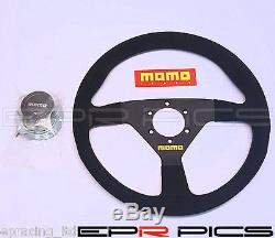 Momo Mod 78 Sude Steering Wheel 330mm Genuine Item Honda Nissan Toyota Mazda