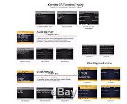 Multifunction Creader 7S OBD2 OBDII Code Reader Scan Tools & Oil Reset Function