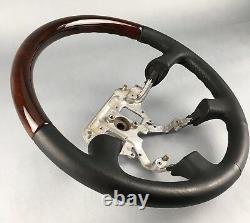 NISSAN PRIMERA P11 TERRANO II R20 1996-05 wood steering wheel Lenkrad Holz bois