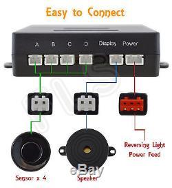 Nissan Backup Radar Parking Reverse Sensors System Kit With Sound Alert