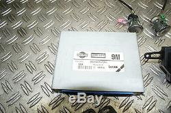 Nissan Primera P11 1,6l Schlosssatz Steuergerät WFS Motorsteuergerät 237103J316