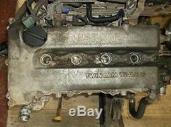 Nissan Primera P11 2.0 Bare Engine SR20DE Petrol Distributor Type, 99 02 140bhp