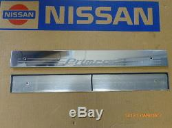 Original Nissan Primera P11 Edelstahl Einstiegleisten vorne KE965-2F100