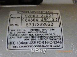Original Nissan Primera P11E, WP11E Klimakompressor 92600-2J004 92600-2J005
