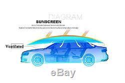 Outdoor Car Portable Semi-automatic UV Protection Sunshade Roof Covers Hood NEW