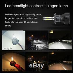 Pair H7 LED Headlight Bulbs For Vauxhall Astra MK4 2.2 H J Vectra C Insignia UK