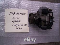 Primera P11 Wp11 2.0td Dieselpumpe Einspritzpumpe Hochdruckpumpe Nissan