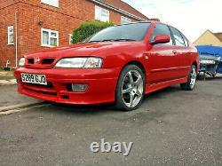 Red 1998 Nissan Primera P11 GT Kouki 2.0 petrol 5dr hot hatch manual SR20 track