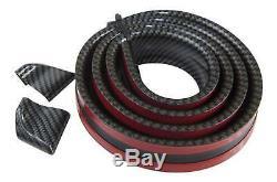 Roof Spoiler Rear Spoiler Spoiler Cover Lip Carbon Black for Many Vehicles