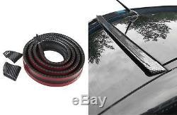 Roof Spoiler Rear Spoiler Spoiler Frame Lip Carbon Black for many vehicles