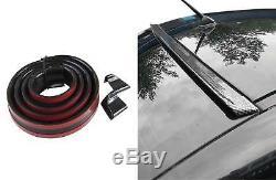 Roof Spoiler Rear Spoiler Spoiler Frame Lip Gloss Black for many vehicles