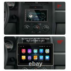 Rotatable 2Din 10.1in Android 9.1 Car Stereo Radio GPS WiFi MP5 Player +Camera