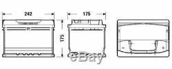 S4004 S4 075 Car Battery 4 Years Warranty 60Ah 540cca 12V Electrical By Bosch