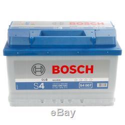 S4007 S4 100 Car Battery 4 Years Warranty 72Ah 680cca 12V Electrical By Bosch