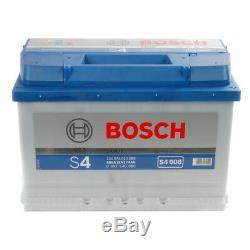 S4008 S4 096 Car Battery 4 Years Warranty 74Ah 680cca 12V Electrical By Bosch