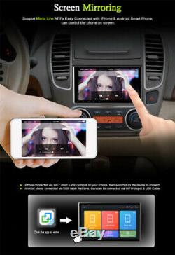 Single 1DIN 9 Android 9.1 Quad-core BT Car Stereo Radio Sat Nav GPS MP5 Player