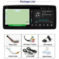 Single DIN 10.25In Android 9.1 Car Radio Stereo GPS SAT NAV WIFI BT FM Player