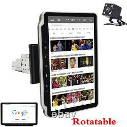 Single Din 10.1 Android9.1 Car Stereo Radio WithCamera GPS Navigation WIFI Player