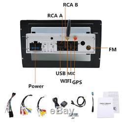 Single Din 10.1HD Android 7.1.1 Car Stereo GPS Radio Head Unit BT DAB OBD 3G/4G