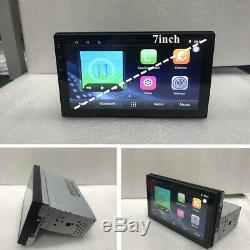 Single Din Android 7.1 Stereo Audio Player 7inch RDS/SWC/Wifi GPS NavigationUK