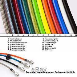 Stahlflex Bremsleitung NISSAN PRIMERA P11 2.0 16V Bj. 99-01