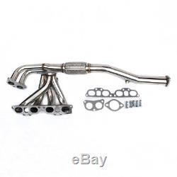 Stainless Steel Tubular Exhaust Manifold For Nissan Primera P11 2.0l Gt 96-99