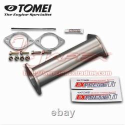 TOMEI Expreme Titanium Ti Cat Straight Pipe for PRIMERA P11 SR20DE 431103