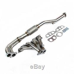 TUBULAR EXHAUST MANIFOLD Fits NISSAN PRIMERA P11 2.0L GT 96-99 STAINLESS STEEL