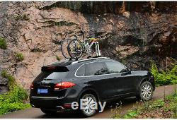 Thicken Bike Rack rock bros Roof-top Quick Installation Release Bicycle Carrier