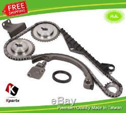 Timing Chain Kit For Nissan Primera 2.0L P10E P11E SR20DE+Oil Seal 1993-99