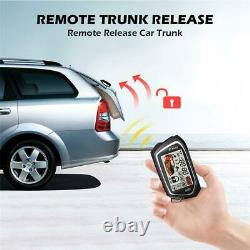 Two Way Universal Car Alarm Security System Keyless Entry Engine Start With Remote