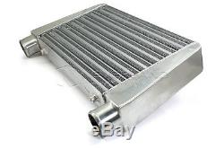 Universal 2.5 Front Mount Tube Turbo Core Intercooler Aluminum 457x279x63 mm