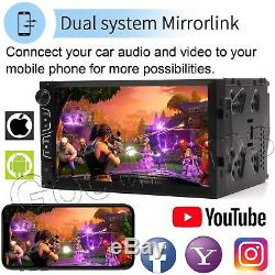 Universal 7 2DIN Android Sys Car Radio GPS Navigation Audio Stereo MP5 Player
