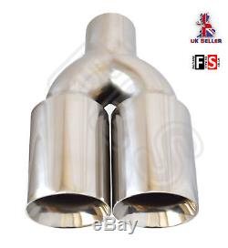 Universal Performance Stainless Steel Exhaust Tailpipe 2.5 In Yfx-0260 Nsn1