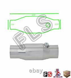 Universal T304 Stainless Sports Cat Catalytic Converter 2.25 Inch 200 Cell-nsn2