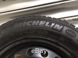 V Nissan Primera P11 WP11 Stahlfelgen Winterreifen 185/65 15 Michelin 8mm