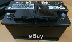 VW Audi Genuine AGM battery 7P0 915 105 A, 75ah, 800A