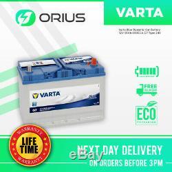 Varta Blue Dynamic Car Battery 12V 95Ah 830CCA G7 Type 249