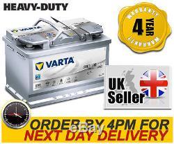Varta E39 Heavy Duty AGM 067 / 096 Car Battery fits Merc Mini Nissan Porsche